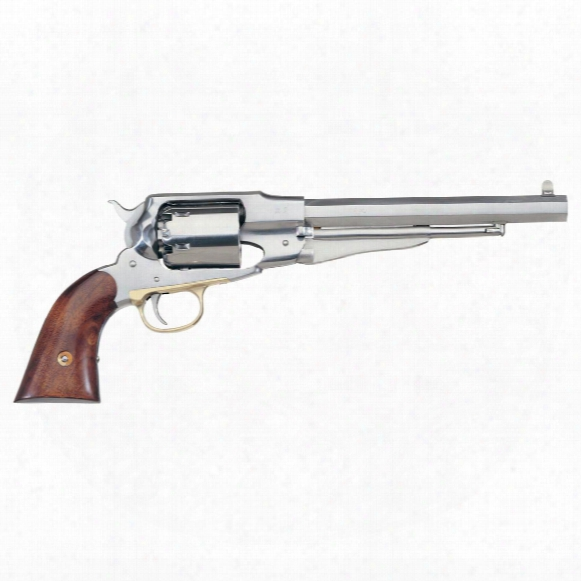 Uberti Reproduction Remington 1858 New Army Stainless Steel .44 Black Powder Revolver