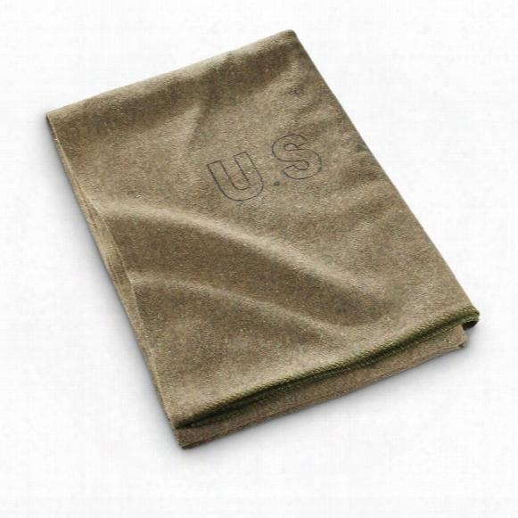 U.s. Military Surplus 5' X 7' Wool Blanket, New