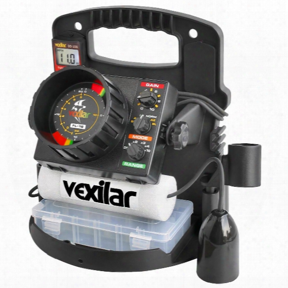Vexilar Fl-18 Flasher Fishfinder Pro Pack Ii With 9 Degrees Pro View Ice-ducer