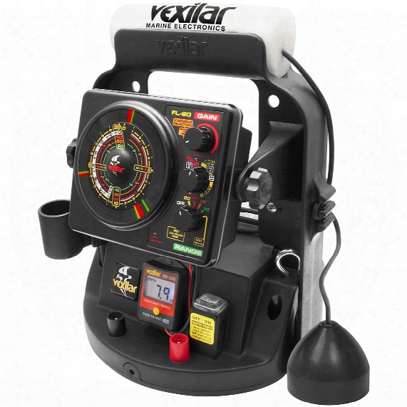 Vexilar Fl-20 Flasher Fishfinder Ultra Pack With 12 Degree Ice-ducer