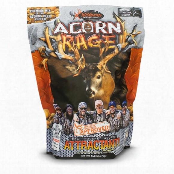 Wildgame Innovations Buck Commander Acorn Rage Deer Attractant, 5 Lbs.
