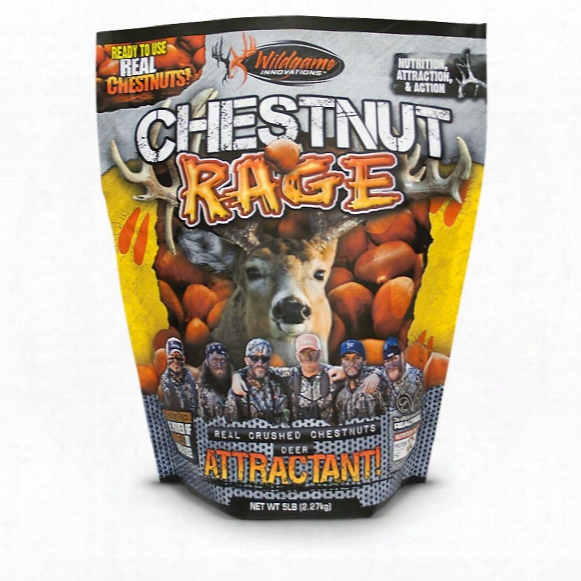 Wildgame Innovations Chestnut Rage Deer Attractant, 5 Lbs.