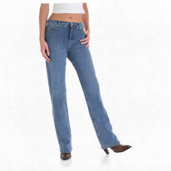 """Women's As Real As Wrangler® Misses 30"""" Inseam Relaxed Fit Jeans"""
