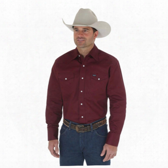 Wrangler® Authentic Cowboy Cut® Work Shirt