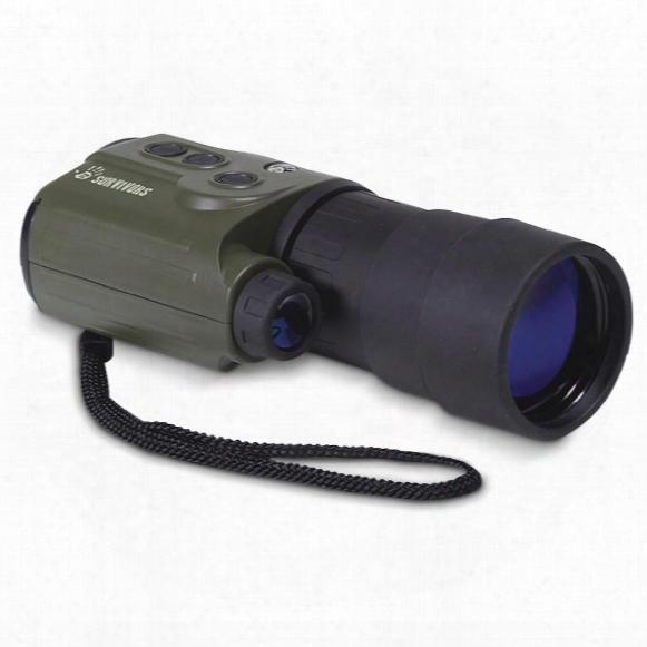 12 Survivors Trace 5x50mm Digital Night Vision Recording Monocular