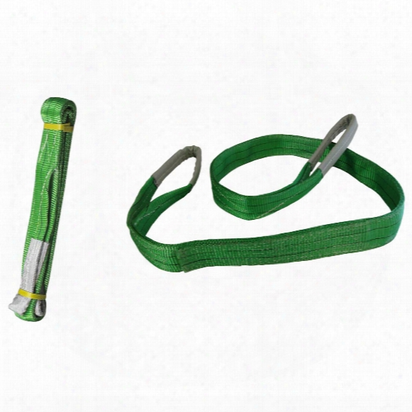 2-pk. Portable Winch Co. 10' Pca-1258x2 Polyester Slings
