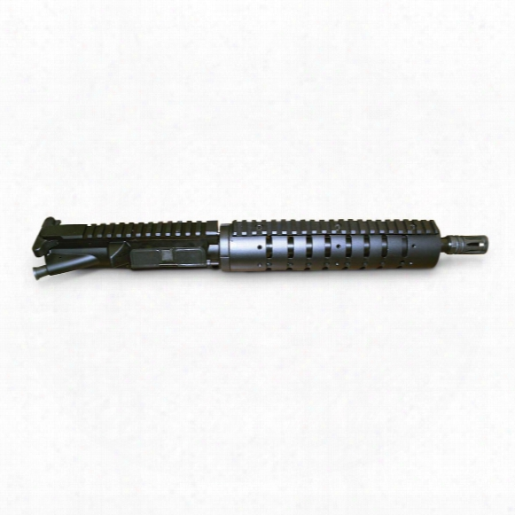 "Anderson 10.5"" Pistol/sbr Upper Receiver Assembly Less Bcg And Chg. Handle, 5.56 Nato/.223 Remington"