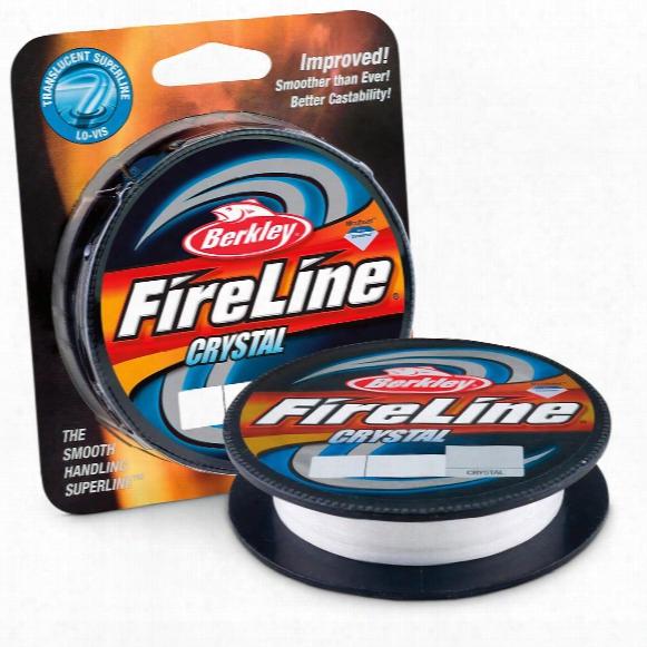 Berkley Fireline Fused Crystal Fishing Line, 300 Yards