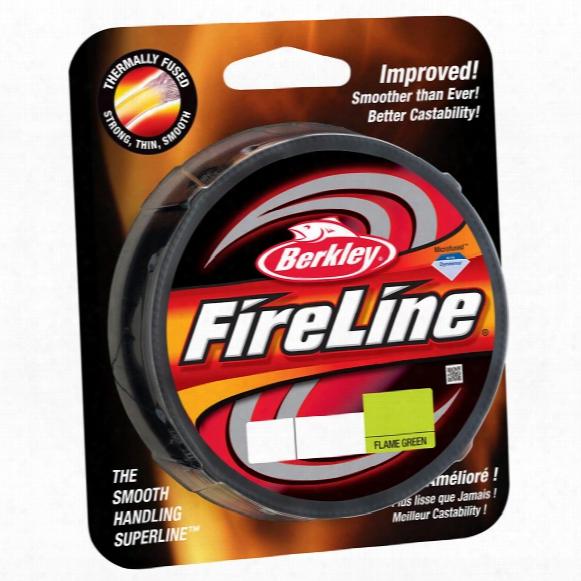 Berkley Fireline Fused Original Flame Green Fishing Line, 125 Yards