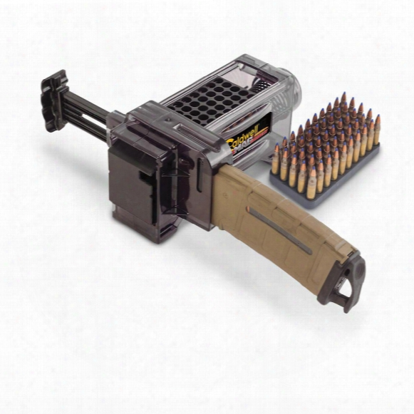 Caldwell Ar-15 Magazine Charger With Five 50-round Plastic Ammo Boxes