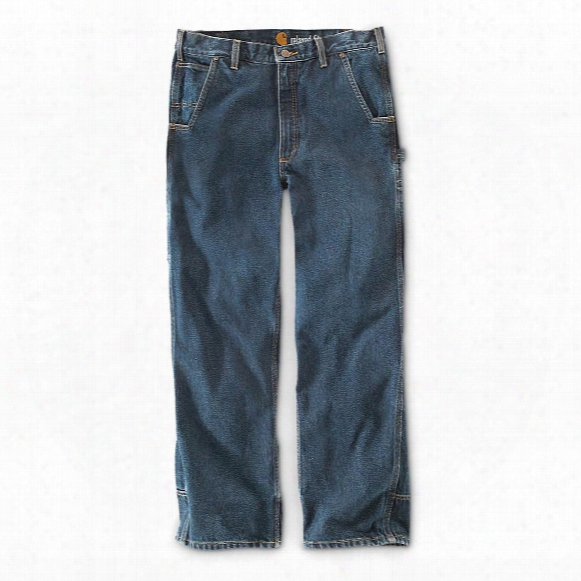 Carhartt Men's Water Repellent Pike Relaxed Fit Jeans, Irregular