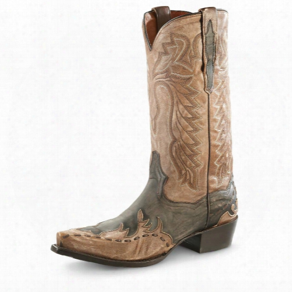 Dan Post Men's Lucky Break Cowboy Boots, Tan