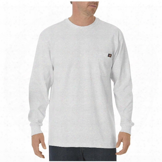 Dickies® Long-sleeved Heavyweight Crew Neck T-shirt,