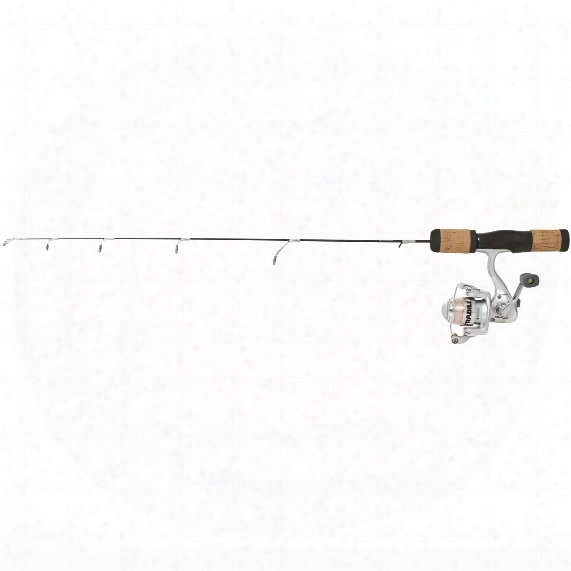 Frabill Fin-s Pro Ice Finish Rod & Reel Combo