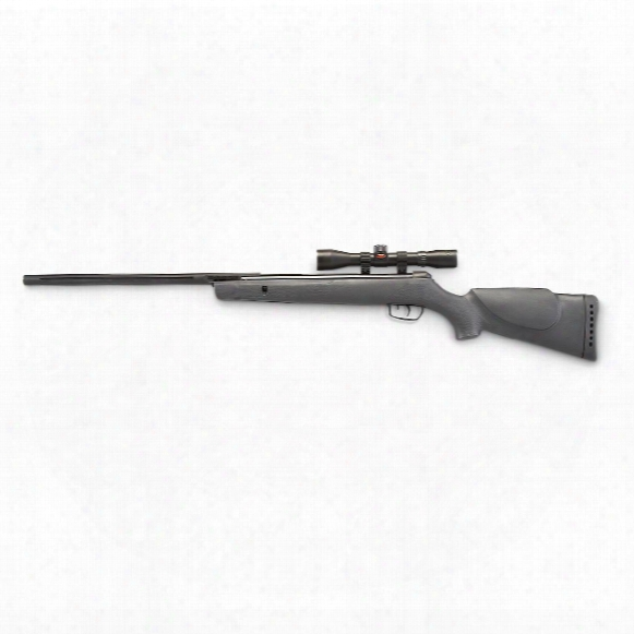 "Gamo Hornet Air Rifle, Break Barrel, .177 Caliber, 18"" Barrel, 4x32mm Scope, 1 Round, Refurbished"
