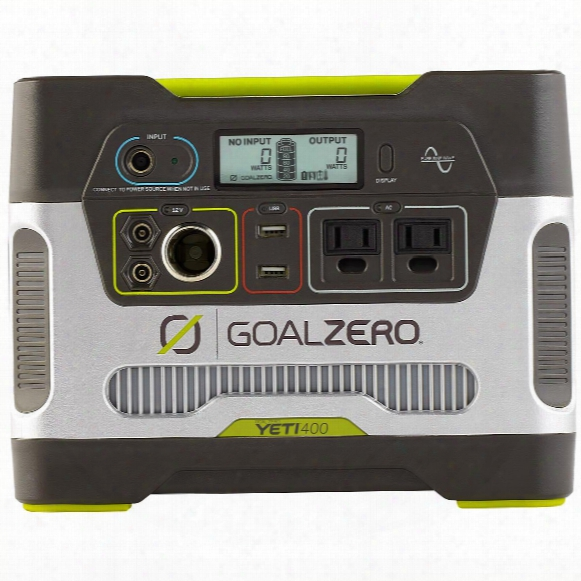 Goal Zero Yeti 400 Pure Sine Solar Power Generator