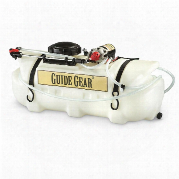Guide Gear Atv Broadcast And Spot Sprayer, 16 Gallon, 2.2 Gpm, 12 Volt
