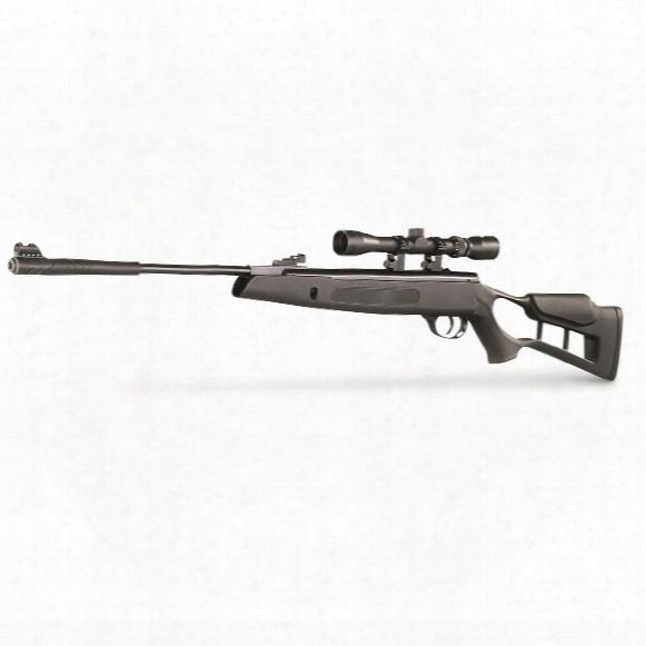 "Hatsan Striker Edge Spring-loaded Break Barrel Air Rifle, .22 Calliber, 17.7"" Barrel, 3-9x32 Scope"