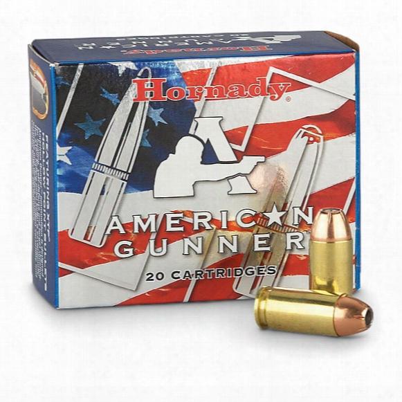 Hornady American Gunner, .40 S&w, Xtp, 180 Grain, 20 Rounds
