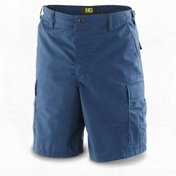 Hq Issue Men's Military-style Nyco Bdu Shorts