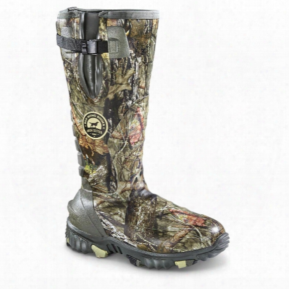 Irish Setter Rutmaster 2.0 Men's Insulated Rubber Hunting Boots, 1,200 Gram, Realtree Xtra Camo