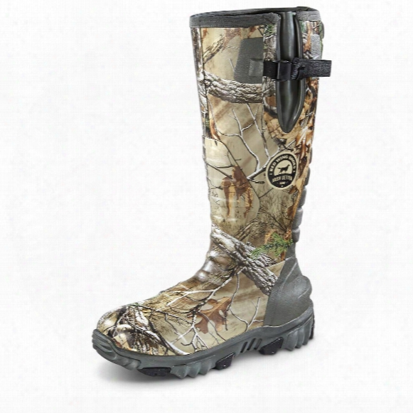 Irish Setter Rutmaster 2.0 Men's Insulated Rubber Hunting Boots, 800 Gram, Realtree Xtra