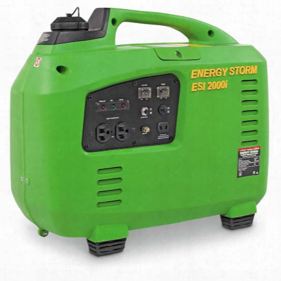 Lifan Energy Storm 2,000 Watt Gas Powered Portable Inverter Generator