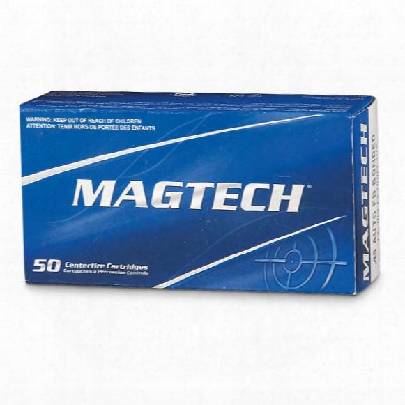Magtech, .45 Acp, Jhp Bonded, 230 Grain, 150 Rounds