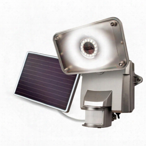 Maxsa Motion-activated 650 Lumen Solar Security Floodlight