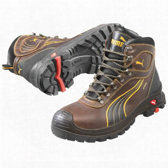 Men's Puma Safety Sierra Nevada Eh Waterproof Mid Safety Toe Boots