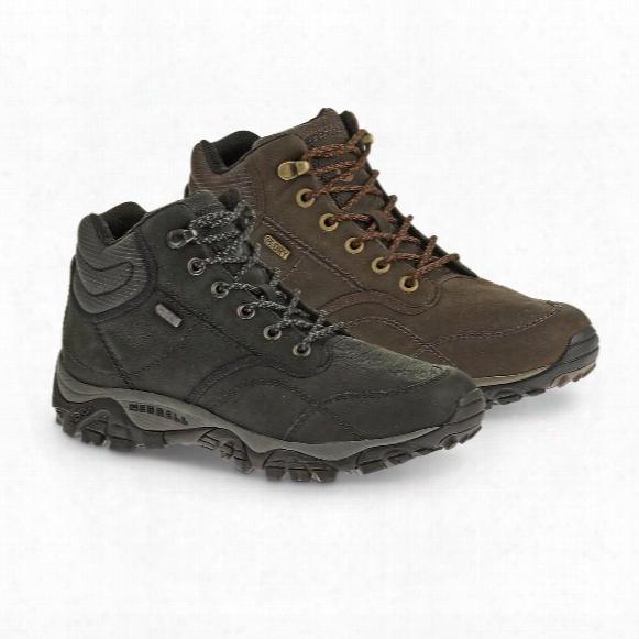 Merrell Men's Moab Rover Mid Waterproof Boots