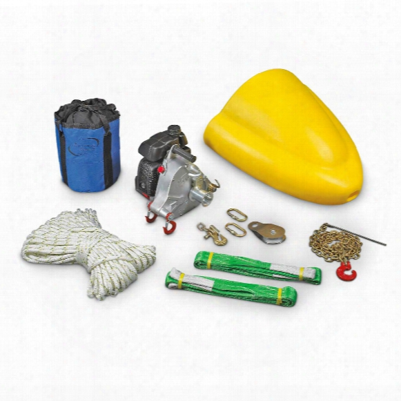 Portable Winch Co. Pcw5000-fk Portable Gas-powered Winch Forestry Kit