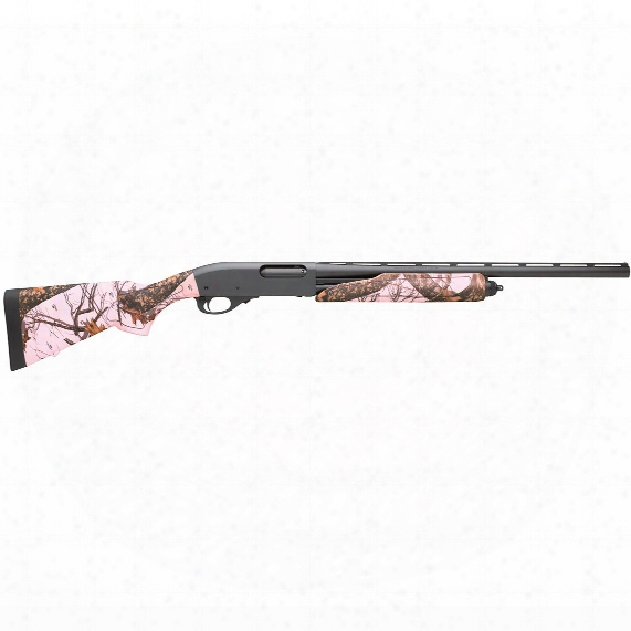 "Remington 870 Express Compact Pink Camo, Pump Action, 20 Gauge, 21"" Barrel, 5+1 Rounds"