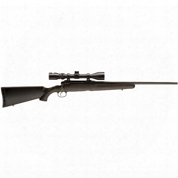 """Savage Axis Xp, Bolt Action, .25-06 Remington, 22"""" Barrel, 3-9x40mm Scope, 4+1 Rounds"""