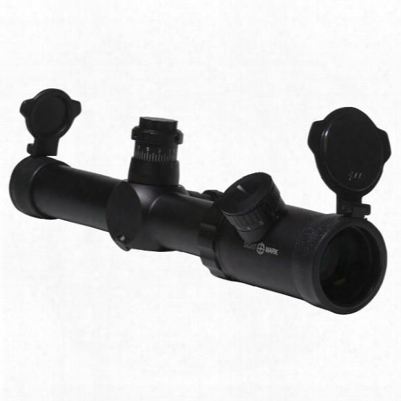 Sightmark Ezekiel 1-10x24mm Illuminated Reticle Rifle Scope