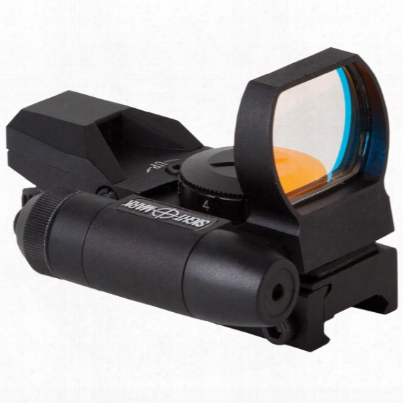 Sightmark Laser Dual Shot Reflex Sight With Red Laser