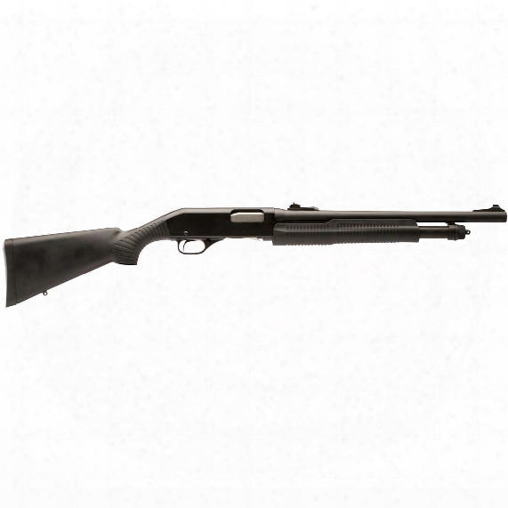 "Stevens 320 Security, Pump Action, 12 Gauge, 18.5"" Barrel, 5+1 Rounds"