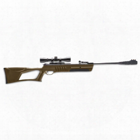 "Umarex Torq Spring Piston Break Barrel Air Rifle, .22 Caliber, 19"" Barrel, 4x32mm Scope"