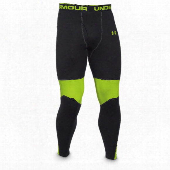 Under Armour Extreme Base Bottoms With Scent Control, Black/velocity