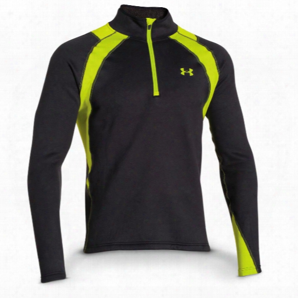 Under Armour Extreme Base Top With Scent Control, Black/velocity