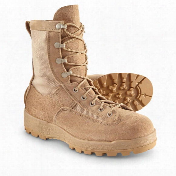 U.s. Military Surplus Men's Gore-tex Desert Combat Boots, New