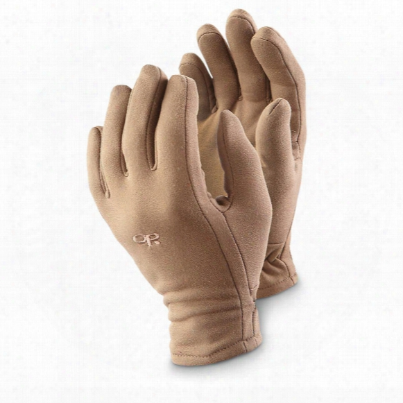 U.s. Military Surplus Usmc Outdoor Research X-static Gloves, New