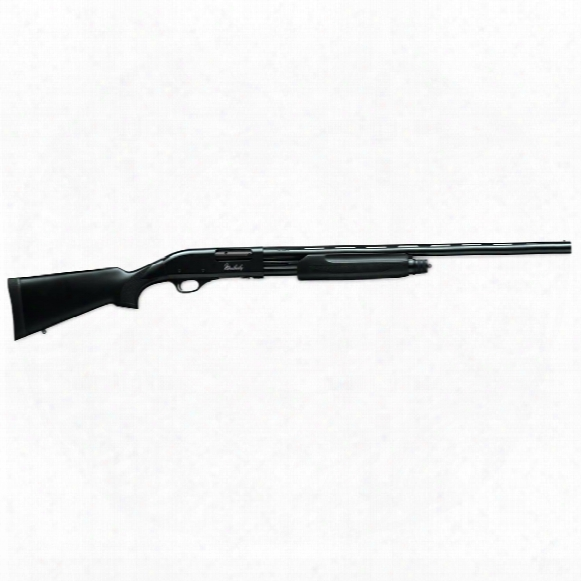 "Weatherby Pa-08 Synthetic, Pump Action, 12 Gauge, 28"" Barrel, 4+1 Rounds"