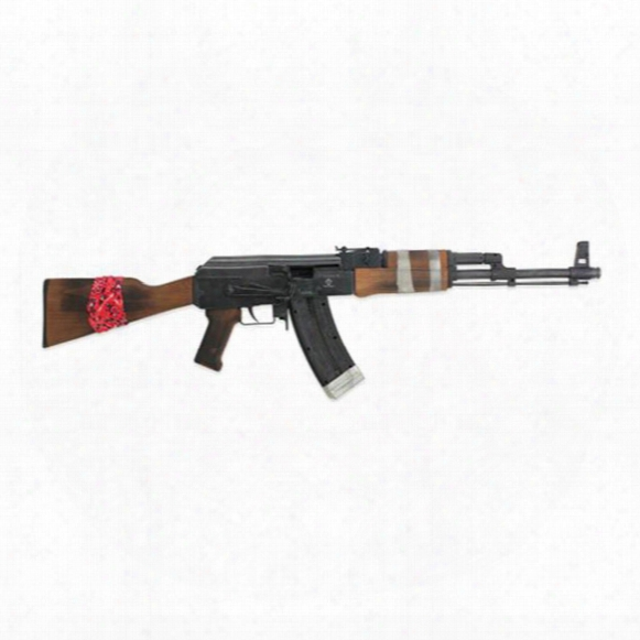 "Ati Gsg Ak-47 Rebel, Semi-automatic, .22lr, Rimfire, 16.5"" Barrel, 24+1 Rounds"