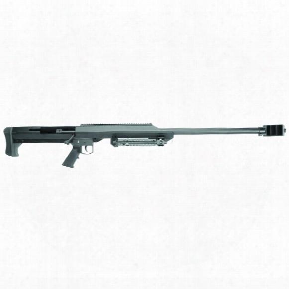 "Barrett Model 99, Bolt Action, .50 Bmg, 29"" Barrel, Leupold 4.5-14x50mm Scope, Single Shot"