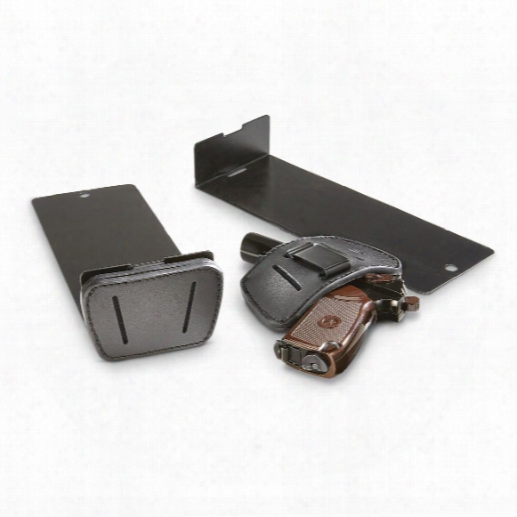 Bedside Gun Bracket With Holster, Semi-automatic Pistols, Ambidextrous