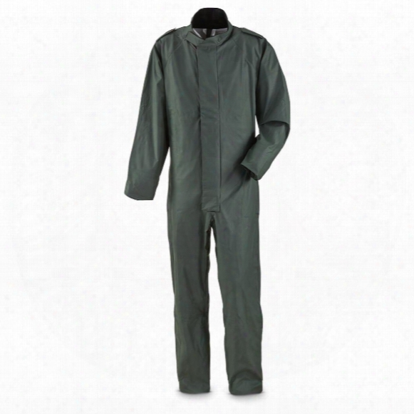 Belgian Military Surplus Waterproof Coveralls, New