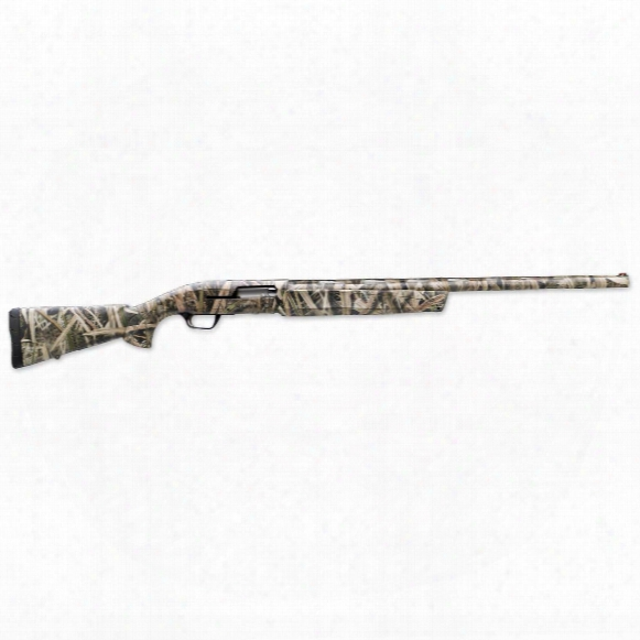 """Browning Maxus Mossy Oak Shadow Grass Blades, Semi-automatic, 12 Gauge, 28"""" Barrel, 4+1 Rounds"""