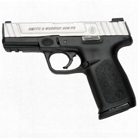 "Ca Compliant, Smith & Wesson Sd9 Ve, Semi-automatic, 9mm, 4"" Barrel, 10+1 Rounds"