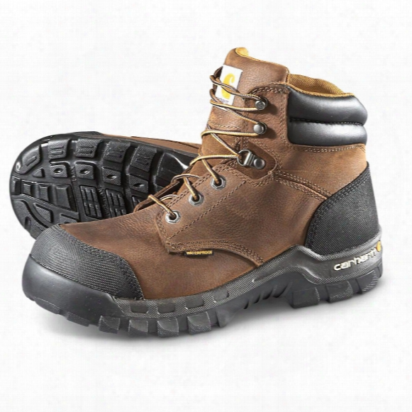 "Carhartt Rugged Flex 6"" Uninsulated Composite Toe Boots, Brown"